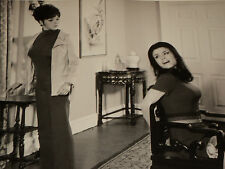 THE AVENGERS / KATE O'MARA TIED TO CHAIR BY LINDA THORSON /  8 X 10  B&W  PHOTO