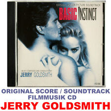 Basic Instinct - Jerry Goldsmith - Original Soundtrack CD - Varése Sarabande