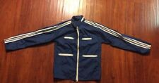Vintage Adidas Windbreaker Jacket 3 Stripe Sleeves Men's small