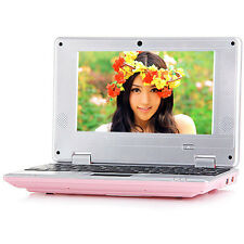 New 7 inch Android 4.0 VIA WM8850 512M 4GB WiFi Camera Netbook With HDMI Pink