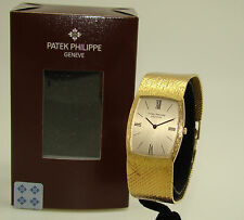 PATEK PHILIPPE 18K YELLOW GOLD 3528/3 GONDOLO WATCH MANUAL WIND on BRACELET