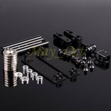 RC 1/10 Dift Car Shell Strong Magnet Stealth Body Post DIY Black 108037/102037