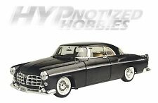 MOTOR MAX 1:24 1955 CHRYSLER 300C DIE-CAST BLACK 73302