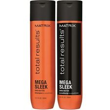 Matrix NEW Total Results Mega  Sleek Shampoo 300ml and Conditioner 300ml