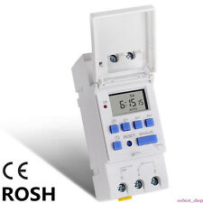 Programmable 12/24 Hour Digital Electronic 16A Timer Switch Relay Socket 7 Dayss