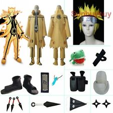 Naruto Uzumaki Naruto Nine-Tails Bijuu Mode costume set with wig
