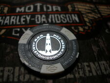 Harley Black & White Poker Chip From New Bern Harley Davidson New Bern, NC