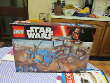 brand new encounter on jakku, FIGURES HAVE BEEN REMOVED,, lego star wars 75148