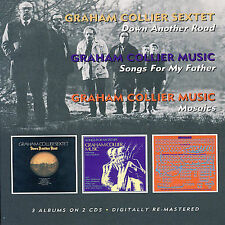 Down Another Road/Songs for My Father/Mosaics by Graham Collier (CD,...