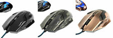 G3 - 6 Button Gaming Mouse - LED Backlight - Adjustable DPI - Various Colours