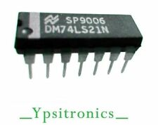 LOTx5 SN74LS21N INTEGRATED CIRCUIT DUAL 4 AND DIP 14 NATIONAL SEMICONDUCTOR-NEW