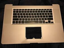 "Apple MacBook Pro 17"" A1297 Top Case Palmrest Keyboard 2009"