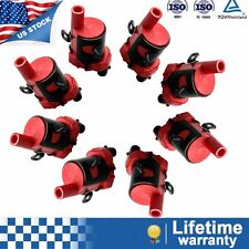 8 pack Ignition Coils Round Style HIGH OUTPUT for Chevrolet GMC 19005218 GM