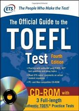 Official Guide to the TOEFL Test With CD-ROM, 4th Edition (Official Guide to