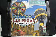 Large Authentic Beaded Welcome to Fabulous Las Vegas Sign Purse