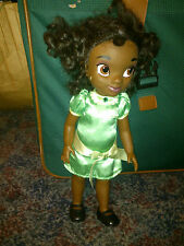 "Disney Store Tiana Animators Collection doll toy 15"" 5 LINES ON FOOT"