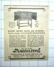 1927 Faultless Gramophone And Radio Magneton Consulting Radio Service