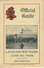 Linwood, Technical, Old Boys, Albion 30 Jun 1928 Canterbury NZ Rugby Programme
