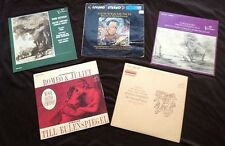MUNCH Szeryng Oistrakh Heifetz Boston Symphony 2 RCA & 3 white dog Living Stereo