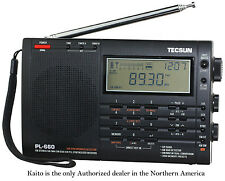 Tecsun PL660 AM FM SW Air SSB Synchronous Radio Black