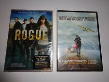 New Sealed Rogue The Complete First Season 4 DVDs & Alaska State Troopers DVD