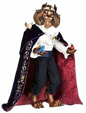 "Disney Store Limited Edition Beast 17"" Doll from Beauty and the Beast"