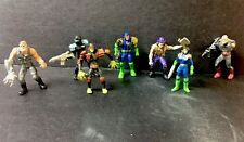 1995 Mattel Judge Dredd Mega Heroes Mini Figures PVC Lot Of 7