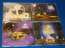 lot 4 CD maxi PHARAO remix I SHOW YOU SECRETS WORLD of MAGIC remixes THERE STAR