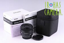 Sigma 30mm F/1.4 DC HSM Lens For Nikon Mount #5881F2