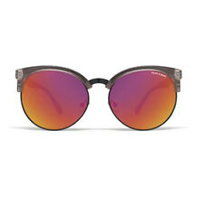 NEW QUAY x Shay Mitchell Vida Coffee/Red Mirror Lens Sunglasses