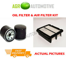 PETROL SERVICE KIT OIL AIR FILTER FOR CHEVROLET KALOS 1.4 83 BHP 2005-06