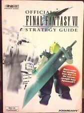 FINAL FANTASY VII BRADYGAMES OFFICIAL STRATEGY GAME GUIDE