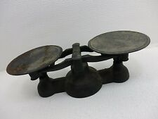 Vintage Antique Balance Counter Weight Scale Cast Iron Old Working Mercantile