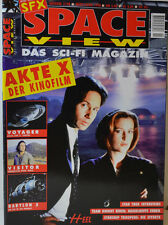 2/1998 SPACE VIEW   AKTE X - ANDERSON  DUCHOVNY   -  STAR WARS  VOYAGER  (SV17)