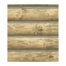 Rustic Cabin Lodge Log Wallpaper CH7977 Priced per DOUBLE roll