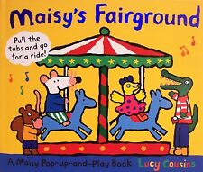 Maisy's Fairground A Maisy Pop-Up-and-Play Book by Lucy Cousins NEW