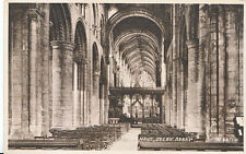 Yorkshire Postcard - The Nave - Selby Abbey     ZZ3429