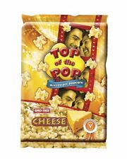 Top of the Pop Microwave Popcorn 100g bag- cheese (pack of 3)