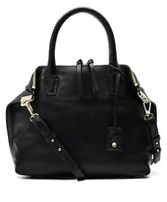 WITCHERY BLACK LEATHER BAG BRAND NEW WITH TAGS ..Sold Out