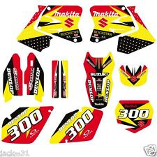 NG RACING SUZUKI RM 125 RM125 RM250 250 VINYL MX Motocross Graphic Kit 2001-2002