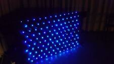 LED BLUE STAR CLOTH FIT'S 4FT DJ STAND BOOTH STAR CLOTHS DISCO EQUIPMENT, PARTY