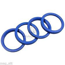 4x Centering ring 72,0 - 57,1 mm Audi BMW Seat Skoda VW MAK TSW