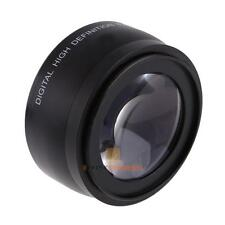 55mm Macro Wide Angle Lens 0.45X For Sony DSLR A230 A350 A300 A330 A500 W/ Bag