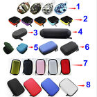 8 Style Earphone Holder Case Earbud Pocket Carry Hard Storage Bag Coin Key Pouch