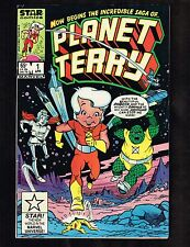 Planet Terry #1 - Star Comics /Marvel (Star Chase Game on Back) 7.5 - WH