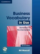 Business Vocabulary in Use : Elementary to Pre-Intermediate by Bill Mascull...