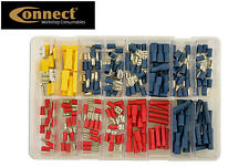 CONNECT 200 ASSORTED Insulated Electrical Wire Terminal Crimp Connectors 31853