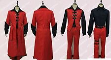 Devil May Cry DMC 3 Dante Cosplay Costume long jacket whole set red custom made