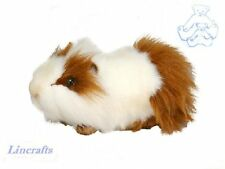Brown/White Guinea Pig/Guineapig Plush Soft Toy by Hansa 3245 cuddly pet cavey.