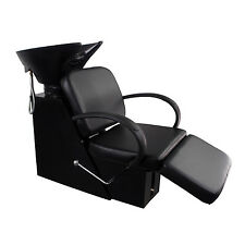 Shampoo Barber Chair Salon Backwash Bowl Sink Spa Equipment Station Unit New